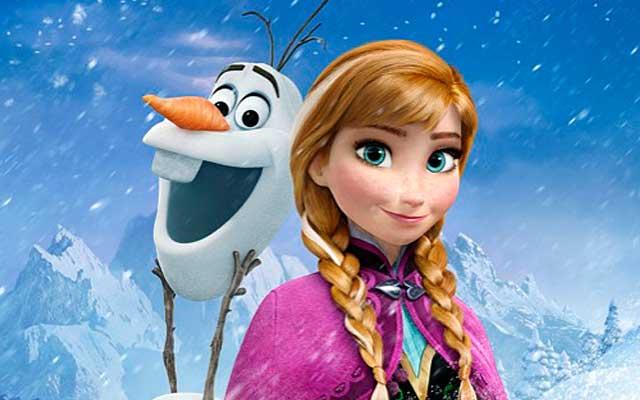 la reine des neiges 4 affiches pour les