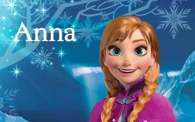 La folle du jour je ressemble anna de la reine des - La reine des neige anna ...