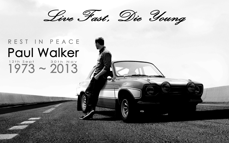 Paul Walker Est Decede Le 30 Novembre 2013 A Lage De 40 Ans Dans Un Accident Voiture Et Cela Fait Deja An Jour Pour Quil Nous Quitte