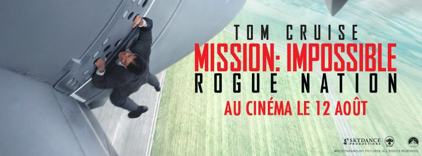 mission impossible rogue nation nouvelle bande annonce zickma. Black Bedroom Furniture Sets. Home Design Ideas