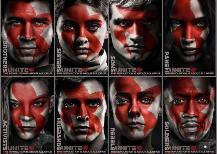 Hunger Games 3-Poster Personnages