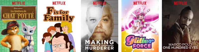 Netflix-programme décembre