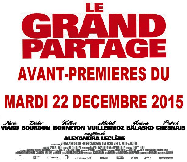Trailer du film Le Grand partage - Le Grand partage Bande-annonce