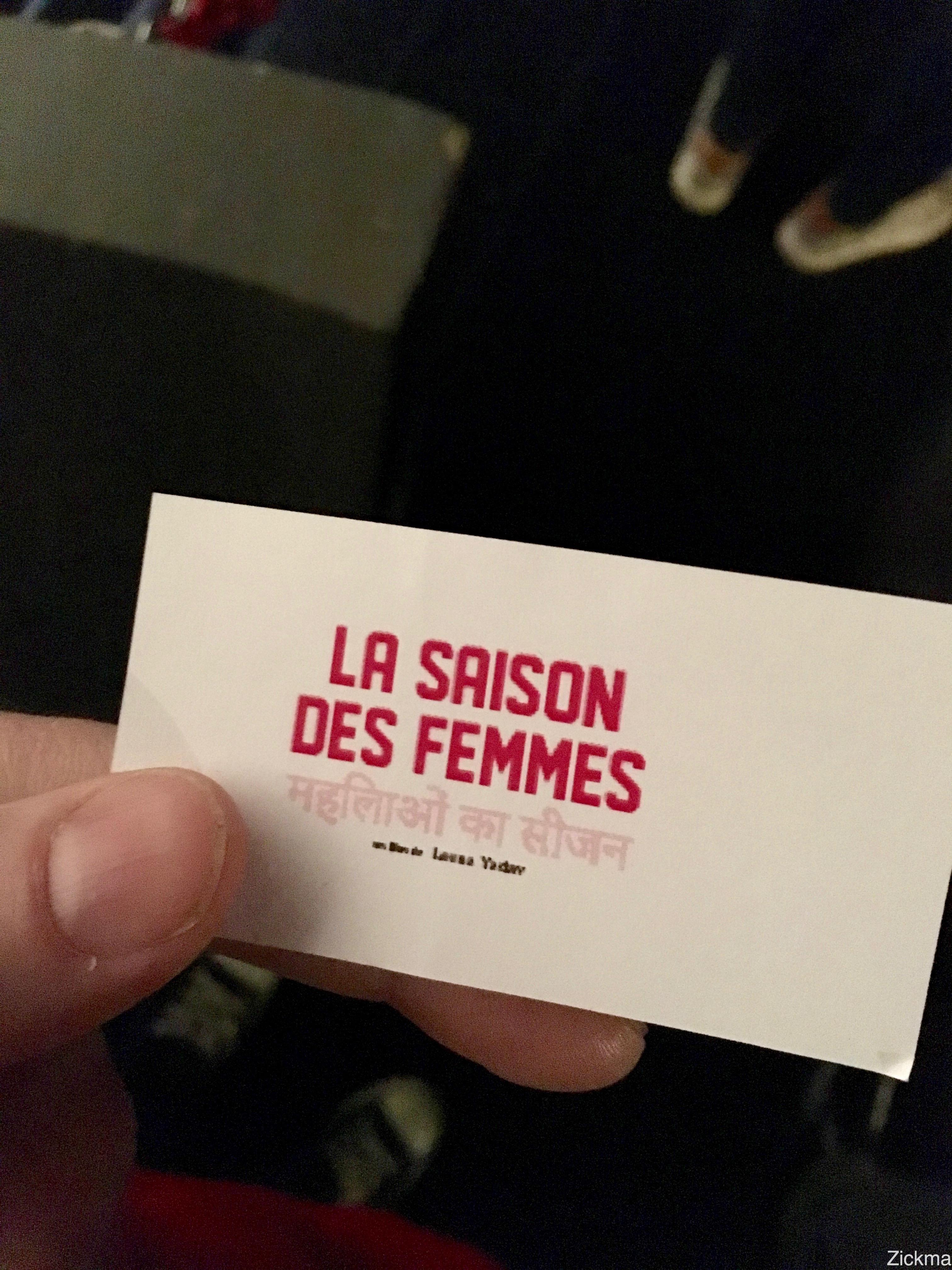 La saison des femmes avp2