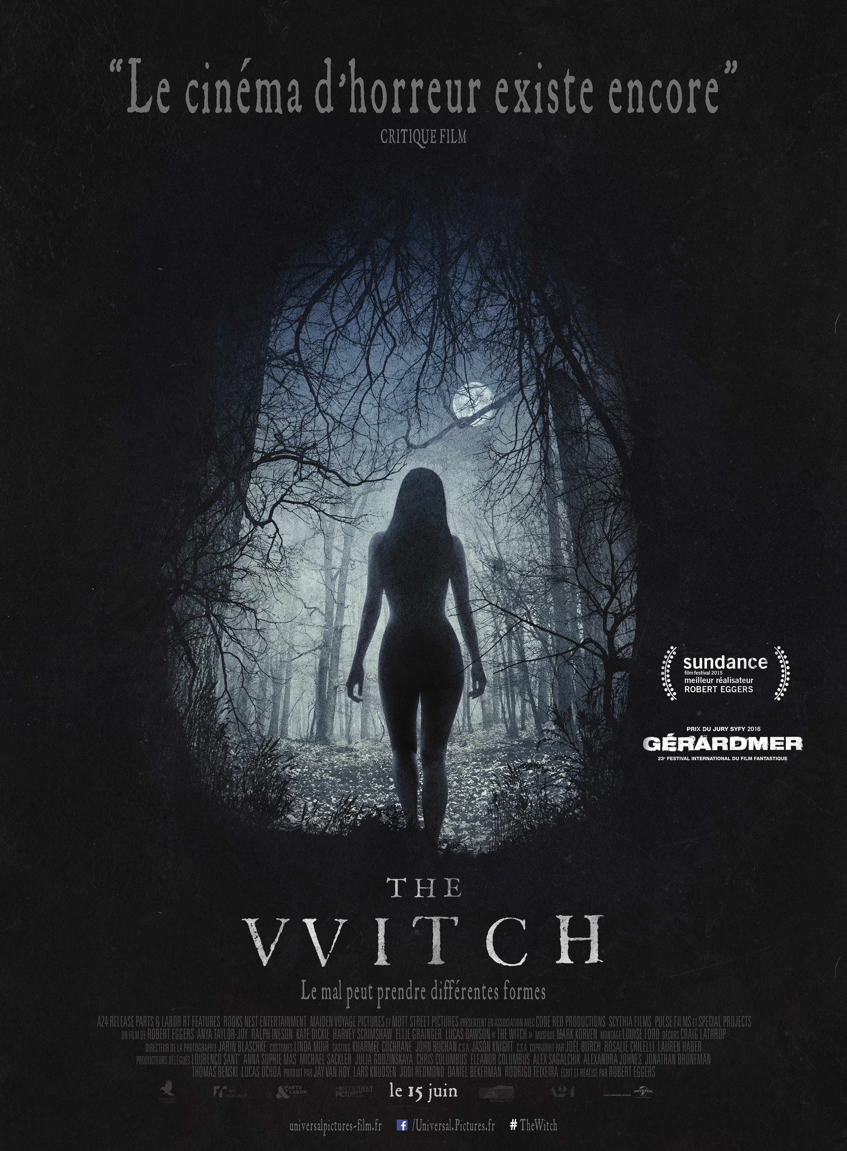 THE WITCH affiche française