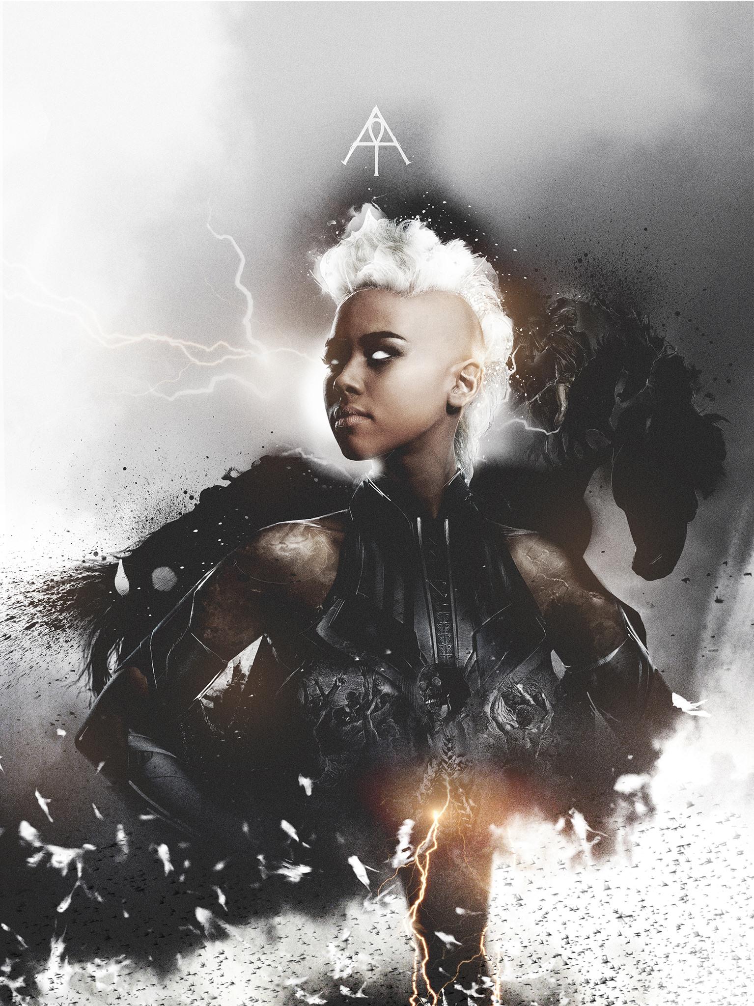 X Men Apocalypse Voici En Poster Les Les Quatre Cavaliers