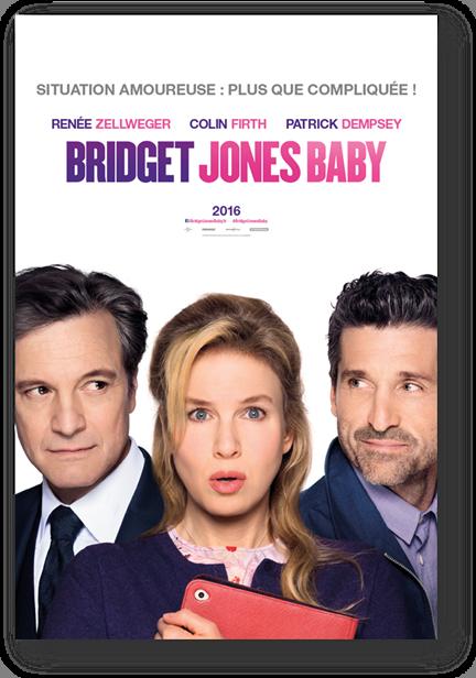 Résultat d'images pour bridget jones baby affiche