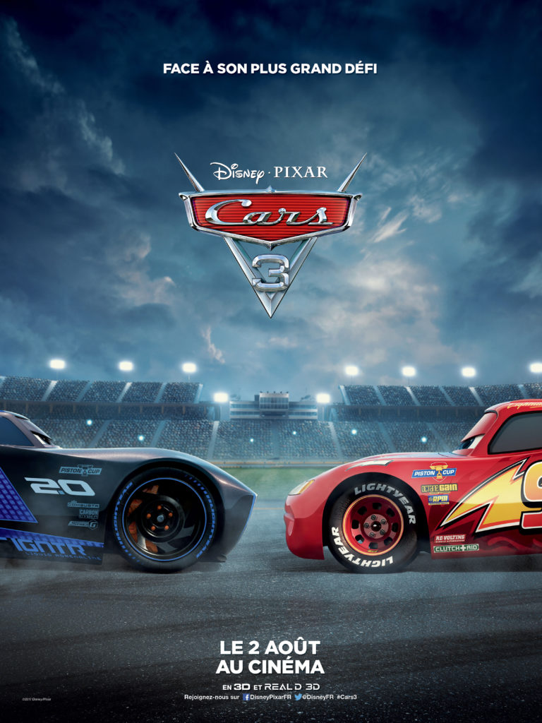 cars 3 flash mcqueen face son destin zickma. Black Bedroom Furniture Sets. Home Design Ideas