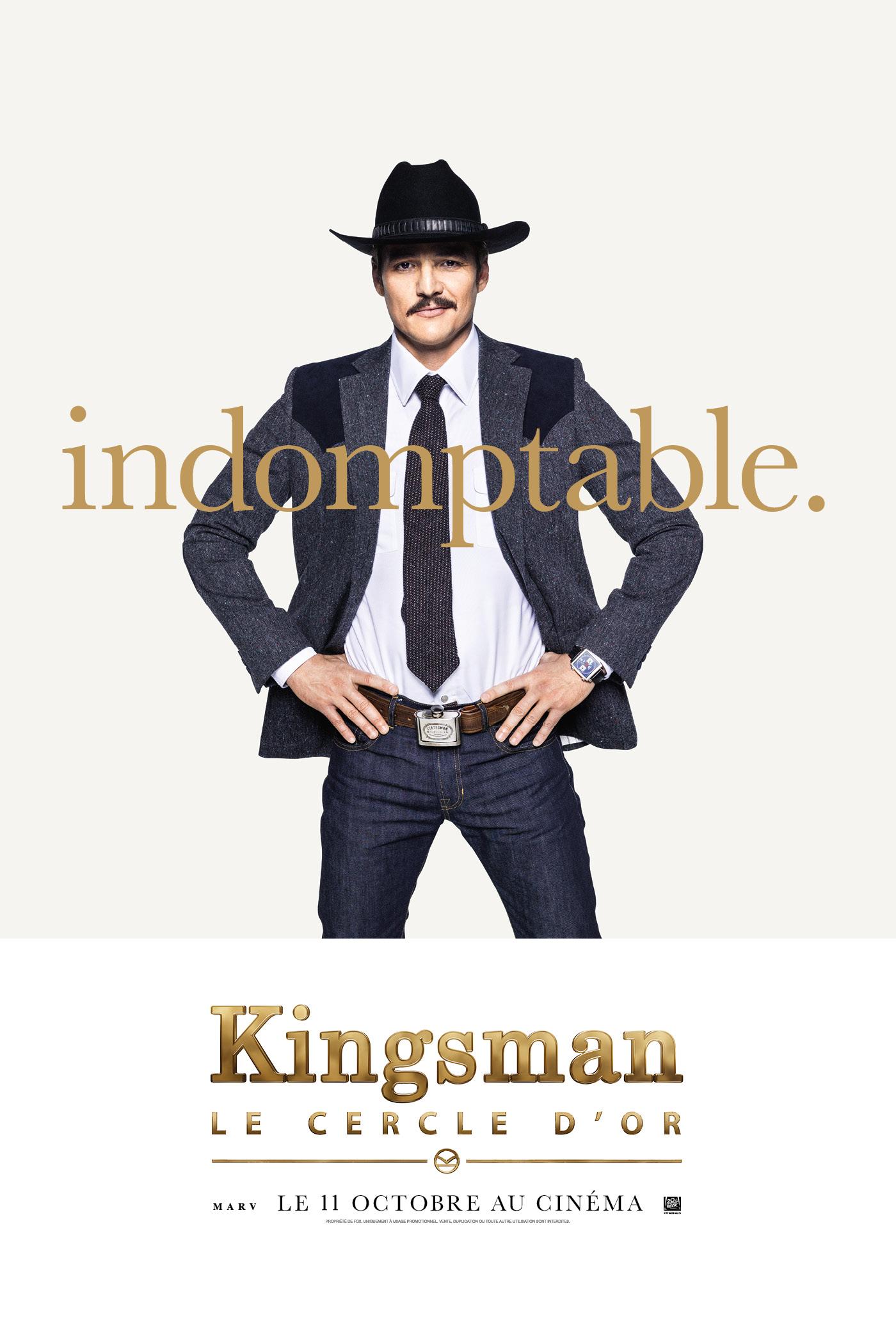Kingsman : Le Cercle d'or – Les posters personnages – Zickma
