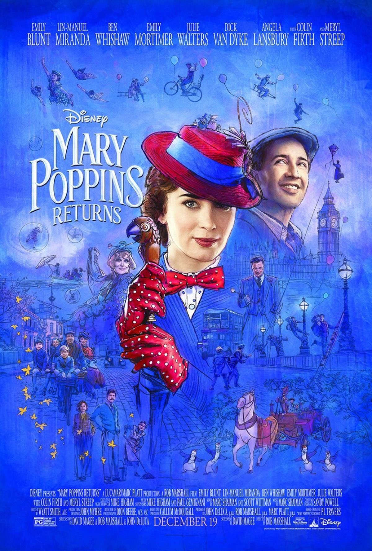 mary poppins bande annonce