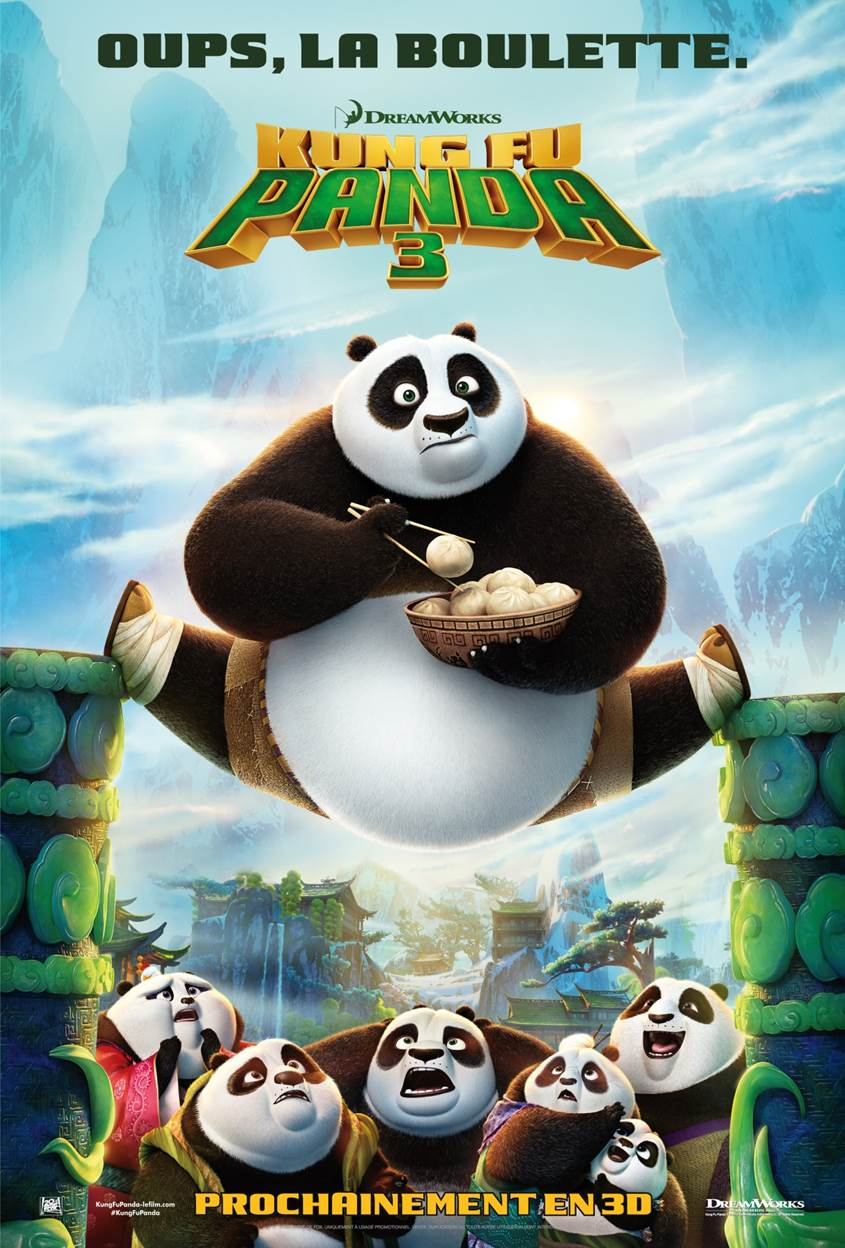 Kung Fu Panda 3: Poster
